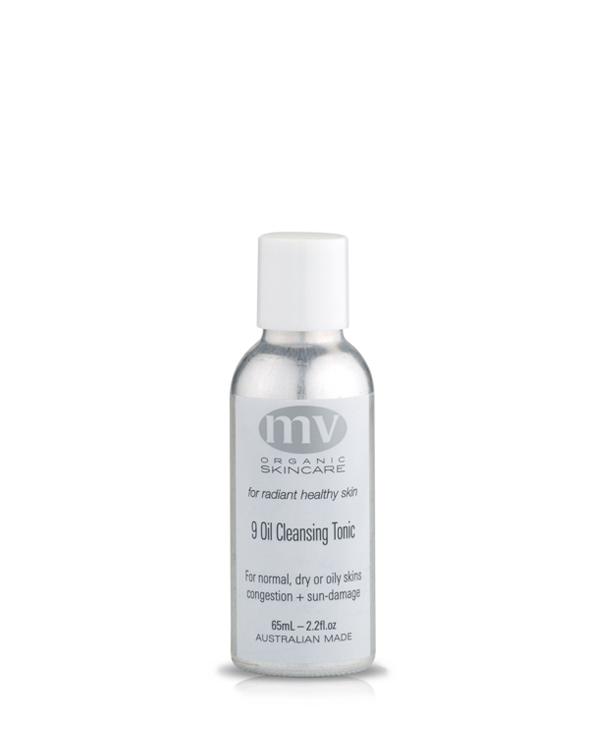 MV Organic Skincare - 9 Oil Cleansing Tonic - 65ml - Pure Botanicals
