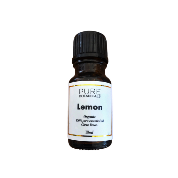 Pure Botanicals Eoil - Organic Lemon - 10ml