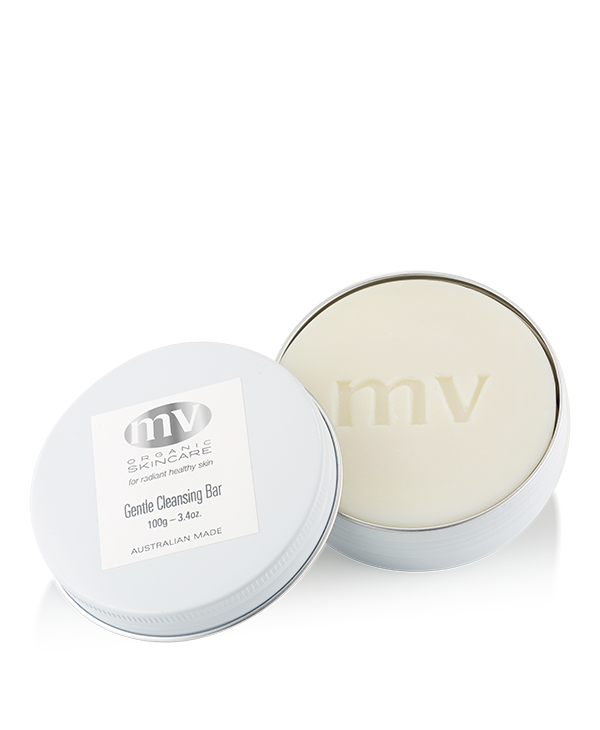 MV Organic Skincare - Gentle Cleansing Bar - 100g - Pure Botanicals