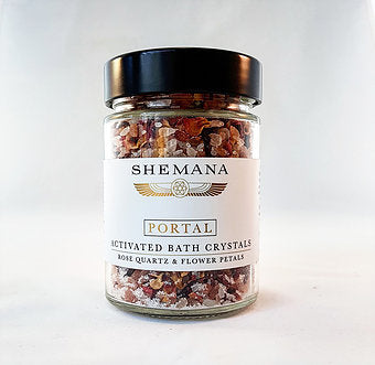 Shemana PORTAL - Activated Bath Crystals - 300g