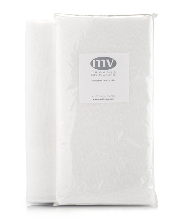 MV Organic Skincare - Muslin Cleansing Cloth - Pure Botanicals