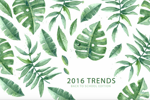 2016 Trends: Back-To-School Edition