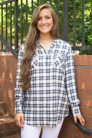 Harwood Washed Plaid Shirt