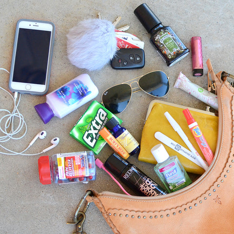 What's in Courtney's purse?