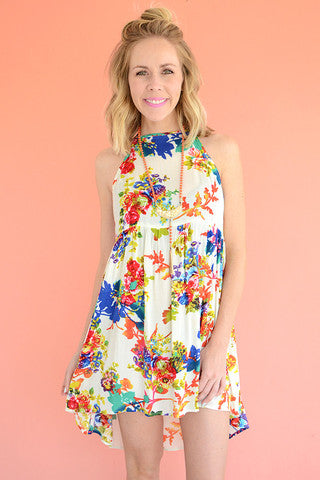 Blossom Floral Print Romper