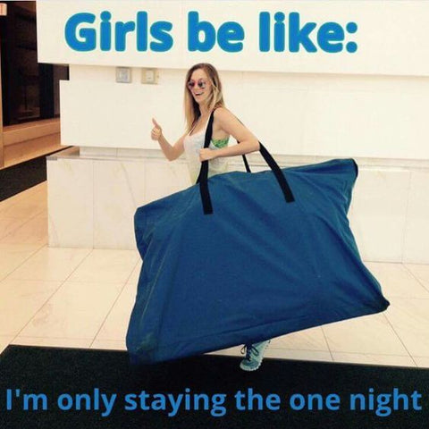 Overpacking Meme