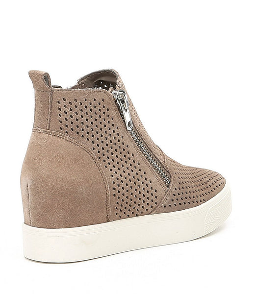 837358893f0 Steve Madden - Wedgie P Wedge Sneaker - Taupe Suede – Page 6 Boutique