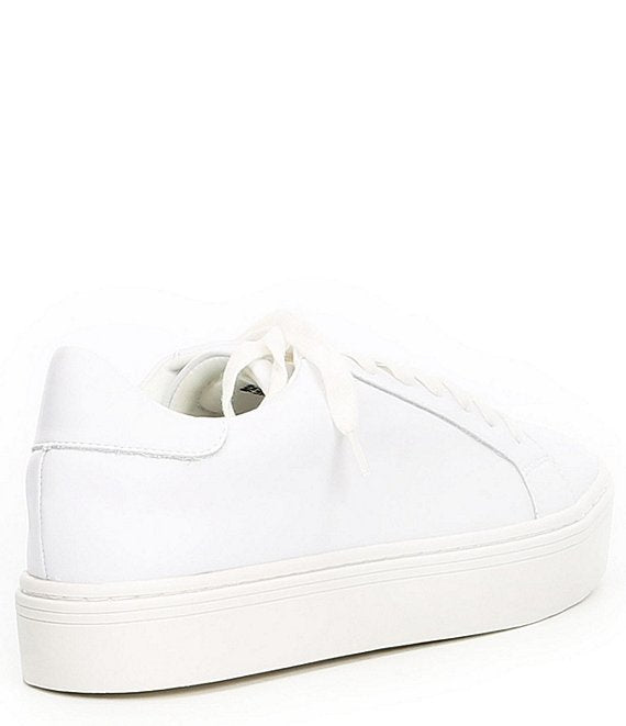 Steve Madden - Bass Sneakers - White Leather