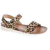 Dirty Laundry - Caylee Sandal - Disco Leopard Tan
