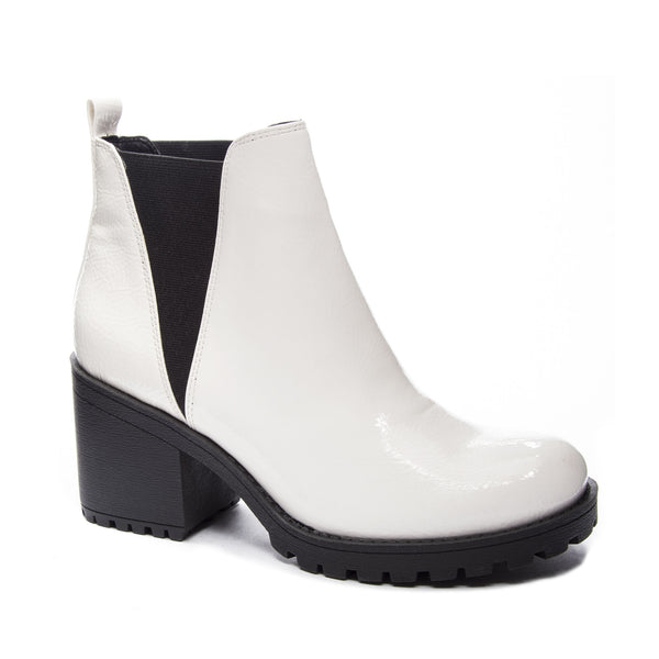 Dirty Laundry - Lisbon Bootie - White
