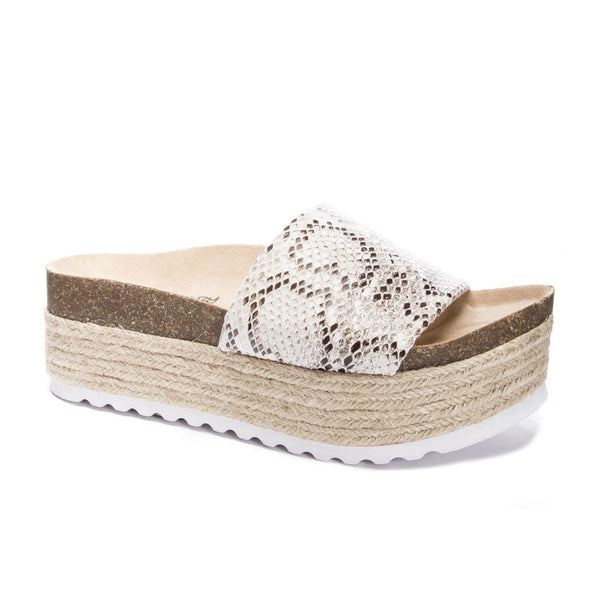 Dirty Laundry - Pippa Micro Suede - White Snake