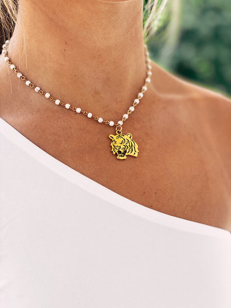 The Mascot Necklace - Yellow Gold
