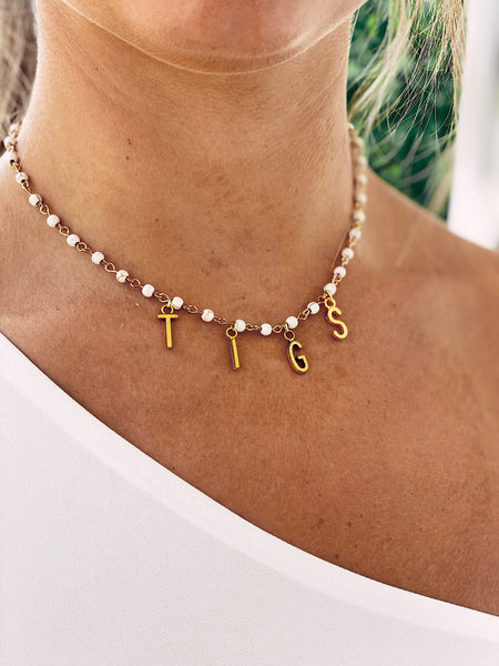 The Tigs Town Necklace - Yellow Gold