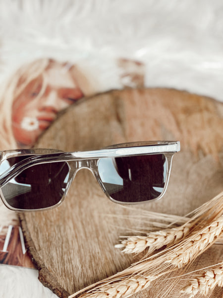 The Billie Sunglasses - Crystal