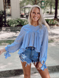 The Miss Periwinkle Top