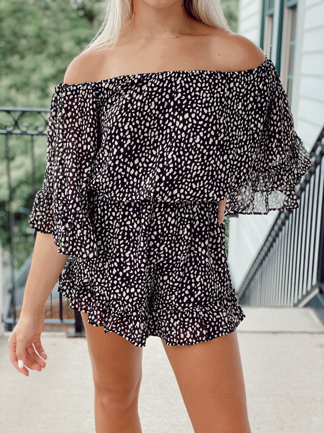 The Crowd My Mind Romper