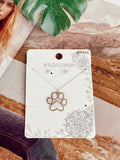 The Paw Pals Necklace - Silver
