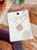 The Paw Pals Necklace - Gold