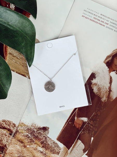 The Wavelength Necklace - Silver