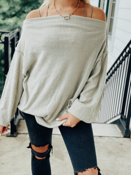 The Coffee Shop Sweater - Matcha