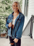The Well Distressed Jean Jacket