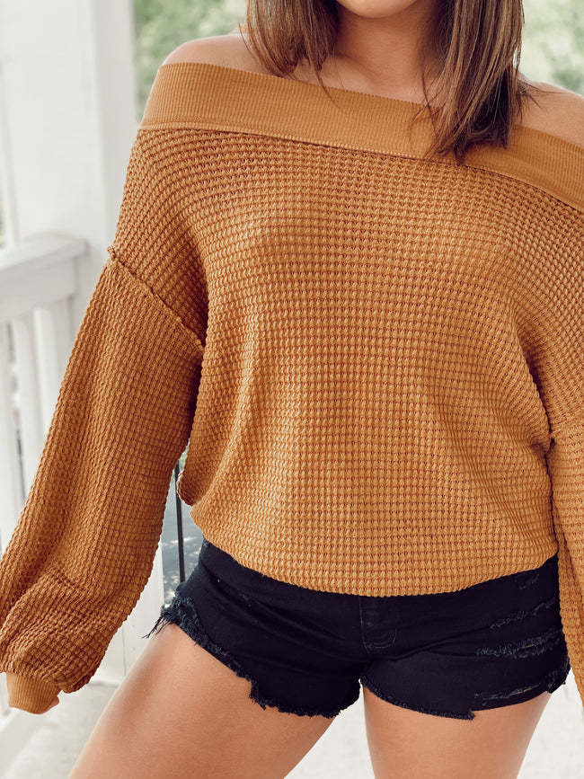 The Creamsicle Sweater - Golden