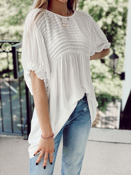 The Casper Top - White