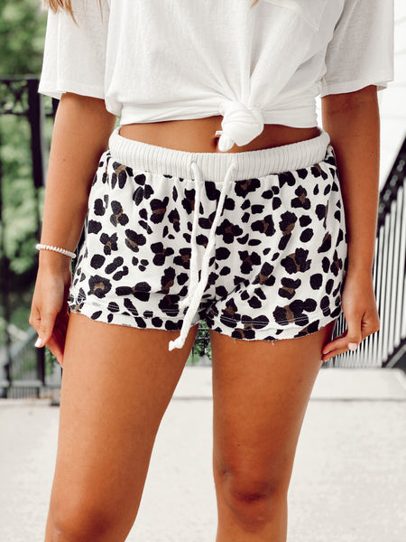 Hidden Dark Wash Denim Shorts