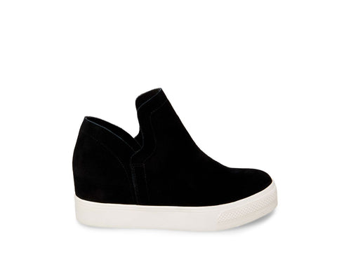 Steve Madden - Wrangle - Black Suede