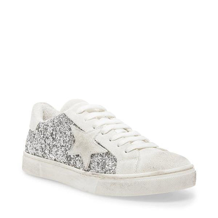 Dirty Laundry - Embark Animal Print Sneakers - White Snake