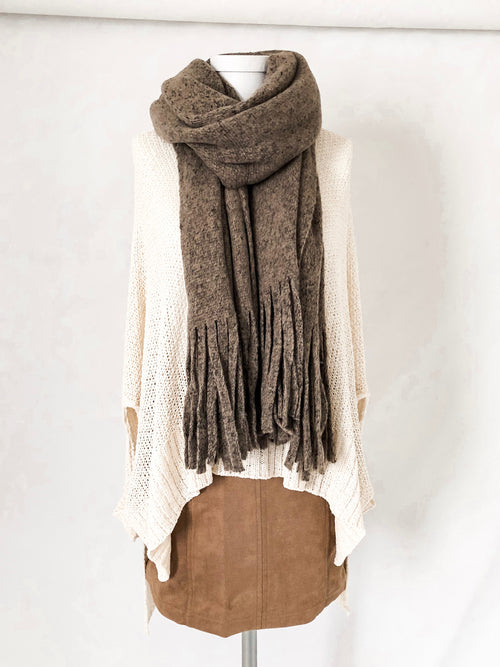 Wind Chill Scarf - Mocha
