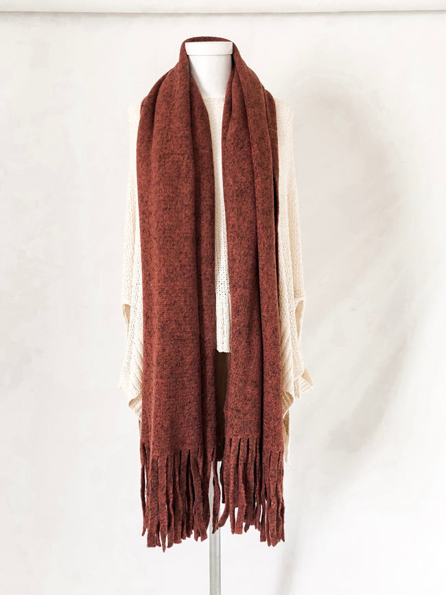 Wind Chill Scarf - Mulberry
