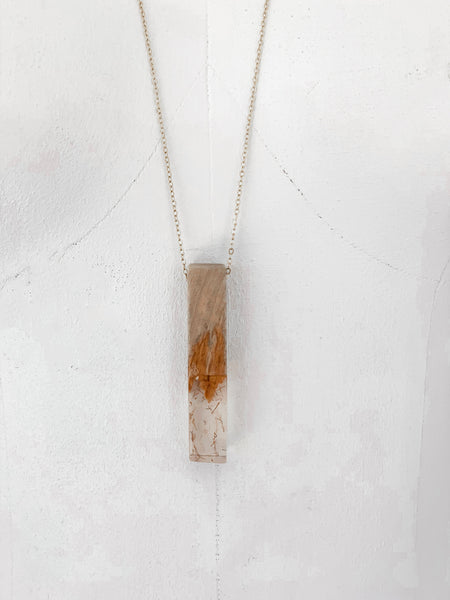 Woodstock Necklace - Clear