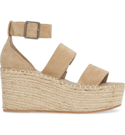 Coconuts by Matisse - Soire Platform Wedges - Natural Fabric