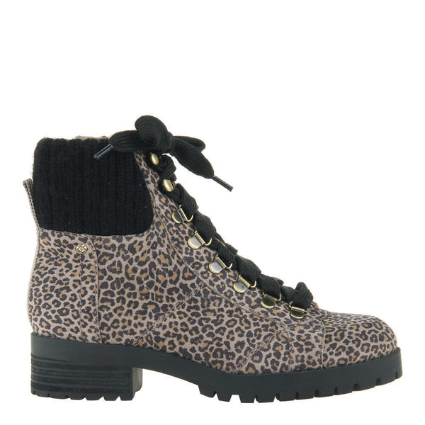 OTBT - Lakewood Ankle Print Boots - Leopard