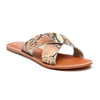 Coconuts By Matisse - Pebble Sandal - White Snake