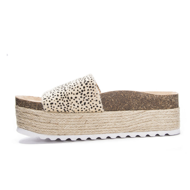 Dirty Laundry - Pippa Micro Suede - Cheetah Tan