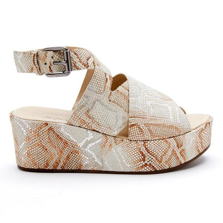 Chinese Laundry -Zella Wedge Sandal - Tan