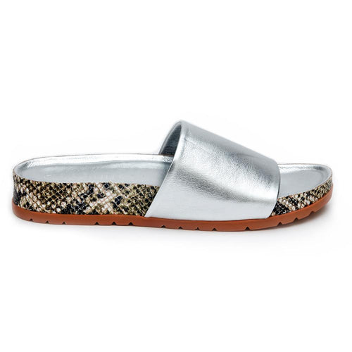 Coconuts by Matisse - Shift Sandal - Silver