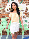 Wrap It Up Skort - White
