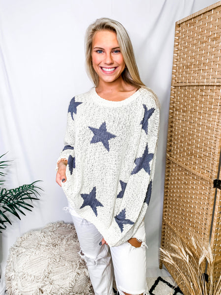Total Eclipse Star Sweater