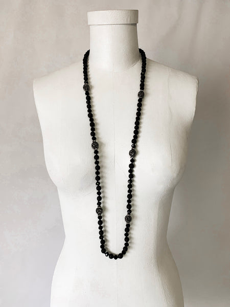 Prehistoric Necklace - Black