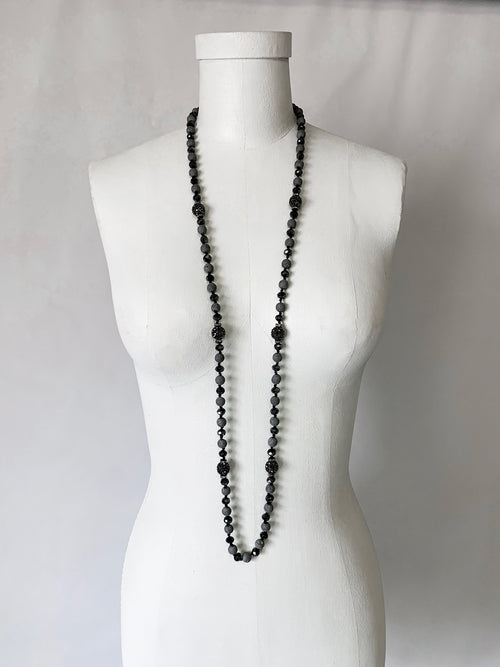 Volcanic Necklace - Pewter