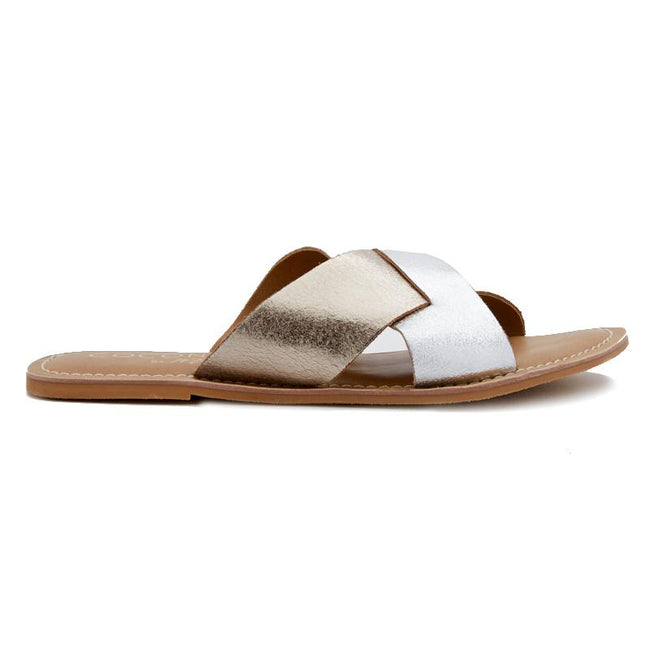 e15491297b6a Coconuts by Matisse Wilma Sandal - Gold Silver