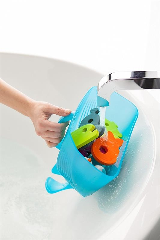 Bath & Potty,Bath Accessories and Bath&Potty:Bath Toys,Boon Pod, bath storage, bath organizer, bath organiser, toy scoop, bath toy, frog, bath drain, whale