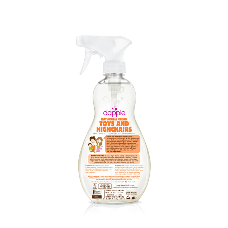 Dapple Fragrance-Free Baby Toy & Highchair Cleaner Spray