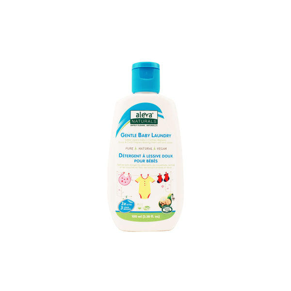 Aleva Gentle Baby Laundry Detergent, Travel Size