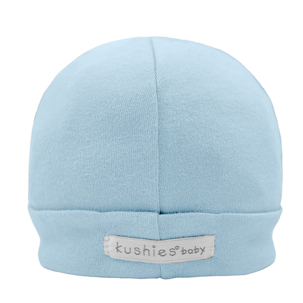 Kushies Cotton Interlock Baby Cap; 1-3 month, 3-6 months