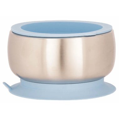 Avanchy Baby Stainless Steel Suction Bowel & Lid