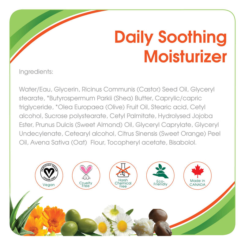 Health & Safety,Lotions,Aleva Naturals, Aleva Daily Soothing Moisturizer, shea butter, moisture, moisturizer, daily moisturizer, skin moisturizer, baby moisturizer, soother